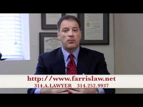 http://www.farrislaw.net 314-252-9937 You've been hurt and you're angry, you're not the kind of ...