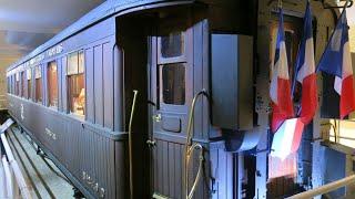 El tren de la paz, donde se firmó el fin de la Primera Guerra Mundial