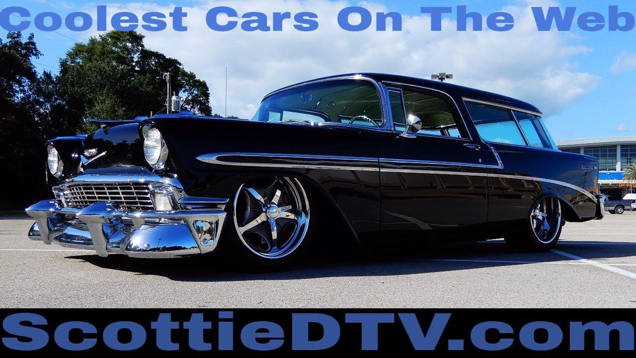 1956 Chevrolet Nomad Wagon Resto Mod 2017 Cruisin The Coast