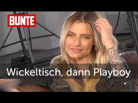 Simone Thomalla Vom Wickeltisch In Den Playboy Bunte Tv Youtube