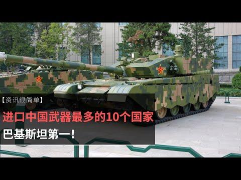 【资讯很简单】进口中国武器最多的10个国家,巴铁第一!