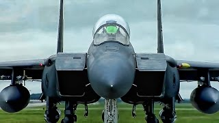 Two Good Clips Of U.S. Air Force F-15 Eagle Fighter Jets