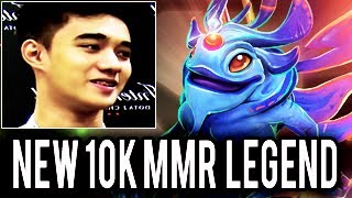 New LEGEND DOTA 2 Abed 10k MMR Monster Absolute World Record in Dota 2 History