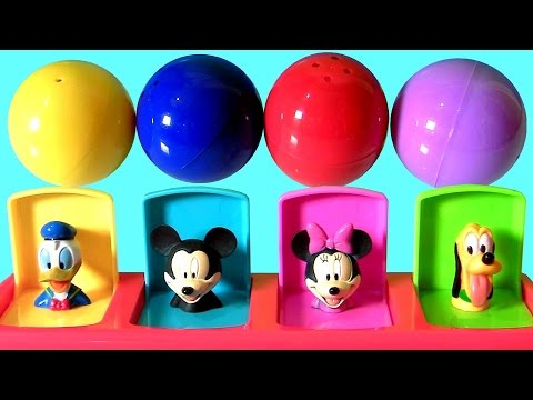 Baby Mickey Mouse Clubhouse Pop Up Pals Toys Surprise