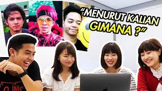 REAKSI CEWEK JEPANG LIAT YOUTUBER & AKTOR INDONESIA! (Atta halilintar, Aliando, dll) MP3