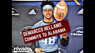 DeMarrco Hellams commits to Alabama