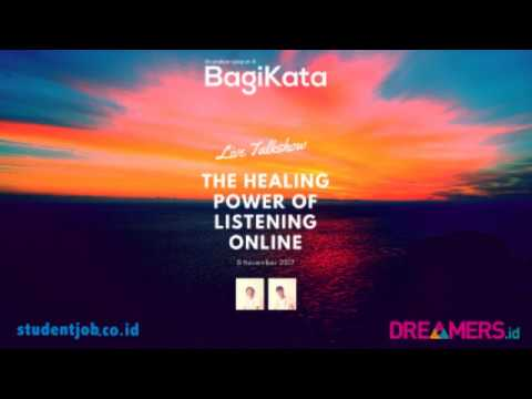 BagiKata - Live Talkshow with IDStudentJob and Dreamers Radio