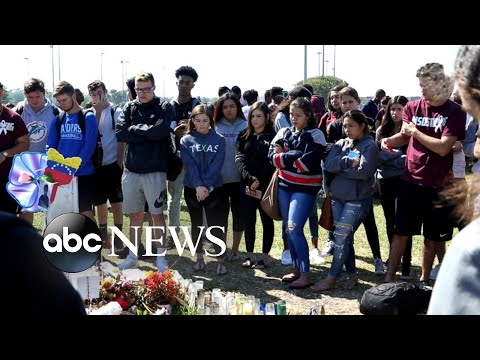 Students across the country rally in National School Walkouts to end gun violence