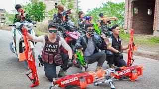 LTT Nerf War : Special Police SEAL X Warriors Nerf Guns Fight Criminal Group Dr.Lee