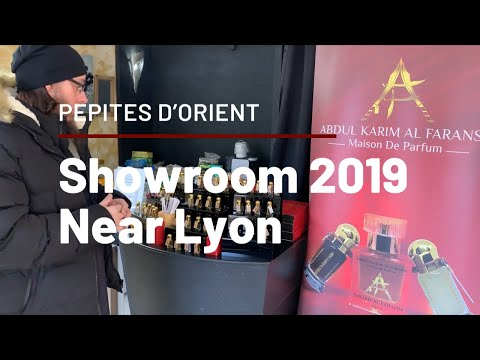 From UK to Lyon, Showroom with Maison Tasneem / France trip 2019 Part 1