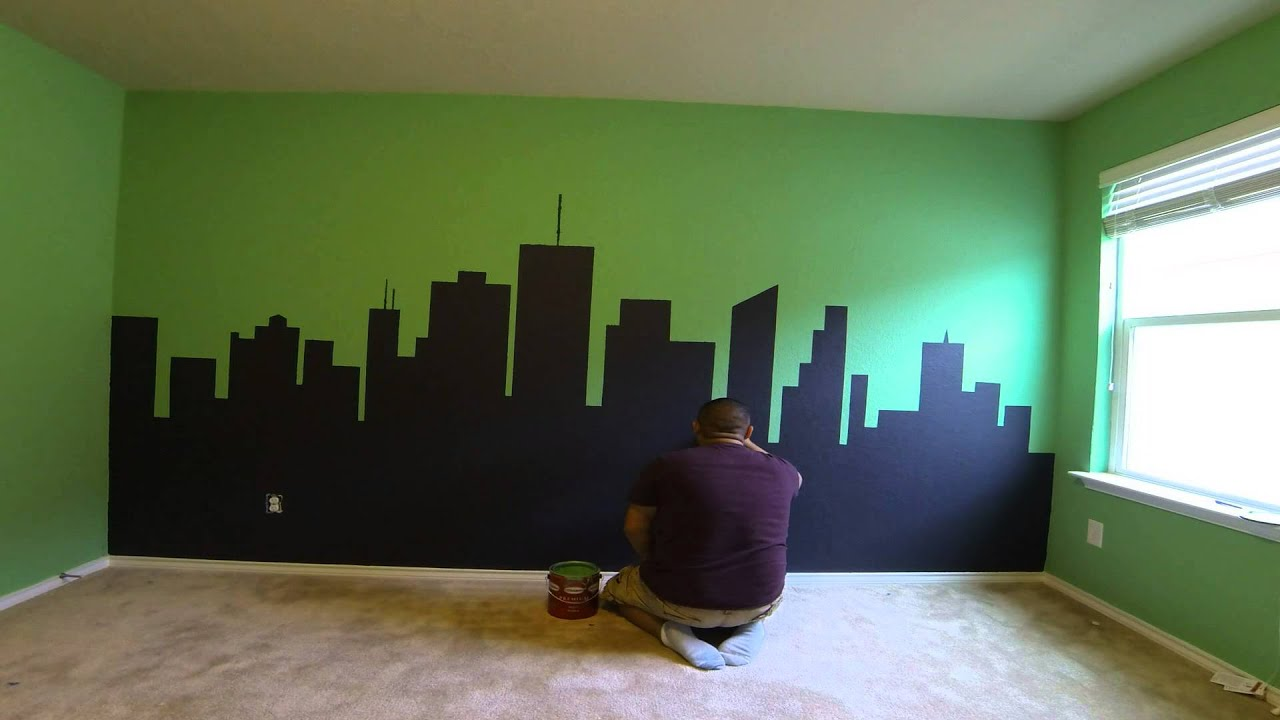 Ninja Turtle Bedroom - YouTube
