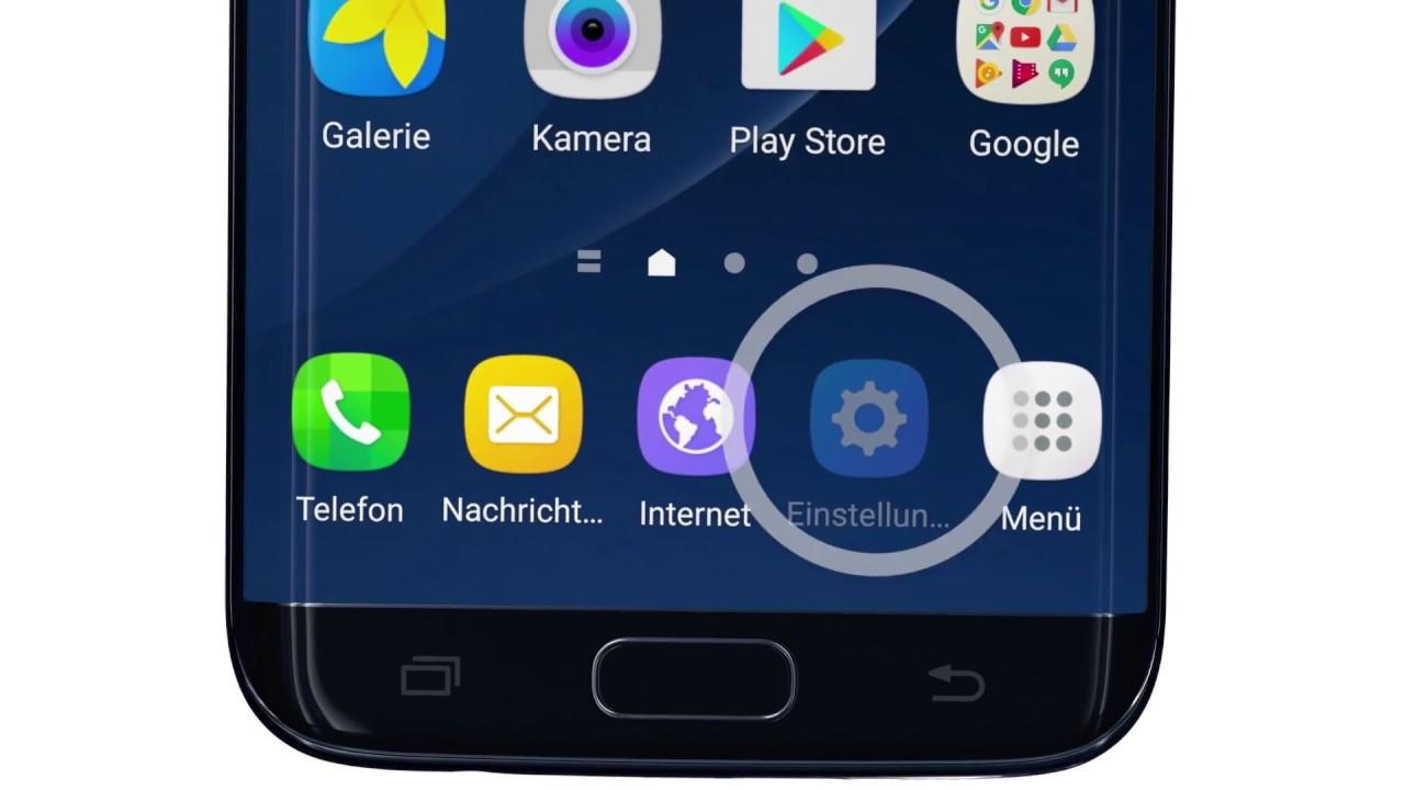 Samsung Galaxy S7 Hintergrund ändern - hintergrund