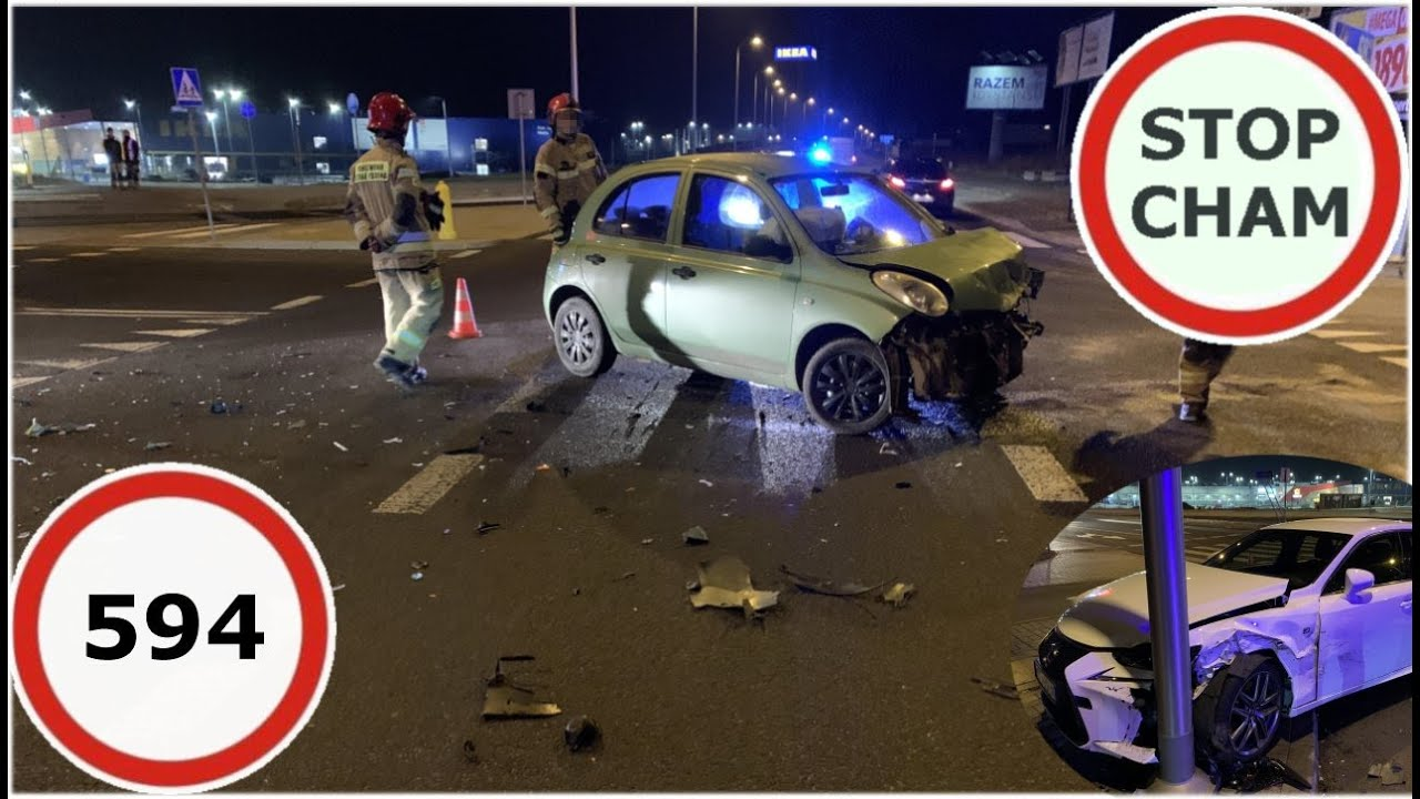 Stop Cham #594 - Niebezpieczne i chamskie sytuacje na drogach