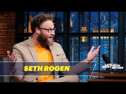 Seth Rogen Had a Wardrobe Malfunction at the Golden Globes