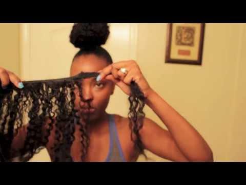 Short Hair: How I Make My Huge Kinky Curly Bun