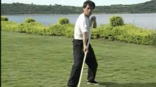 Shaolin Liu He Gun Bâton des 6 coordinations Liang Chao Qun