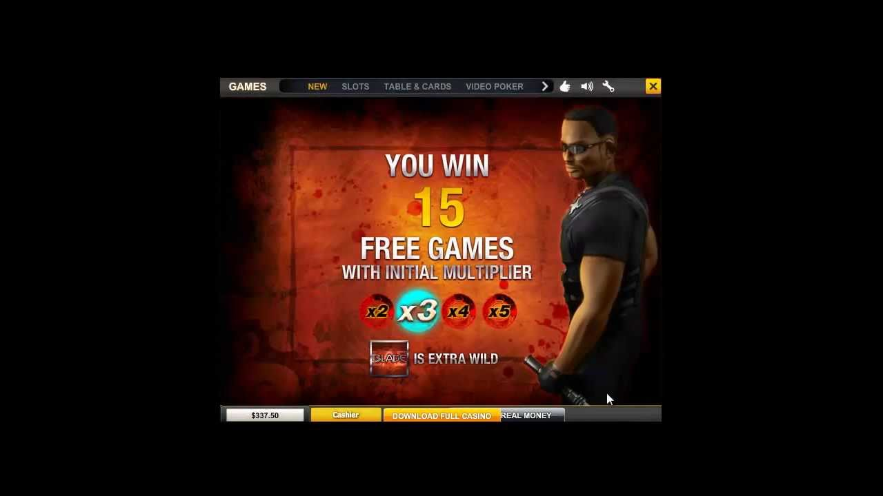 Blade Slots Free Play