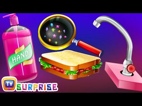 Thumbnail: Surprise Eggs Nursery Rhymes Toys | Wash Your Hands | Good Habits For Children | ChuChu TV