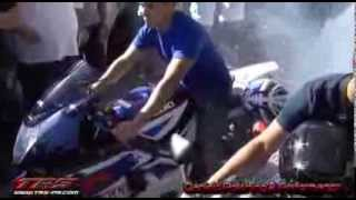 2014 COAMO SAN BLAS MARATHON MOTORCYCLE BURNOUTS