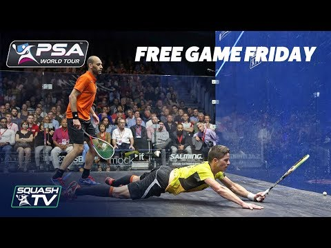 Squash: Ma. ElShorbagy v Kandra - Free Game Friday - British Open 2018