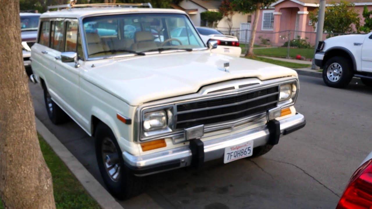 1987 Jeep Wagoneer - YouTube