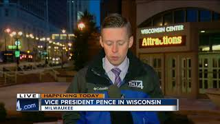 Pence to join with Walker, Foxconn executive at public forum in Milwaukee