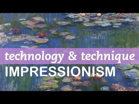 Impressionism Technique - Monet, Degas, Renoir, Pissarro
