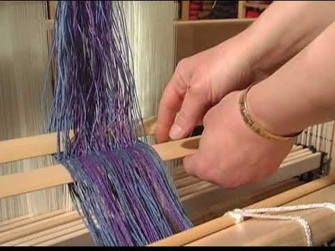 Louet Spring Loom Warping Demonstration and Features