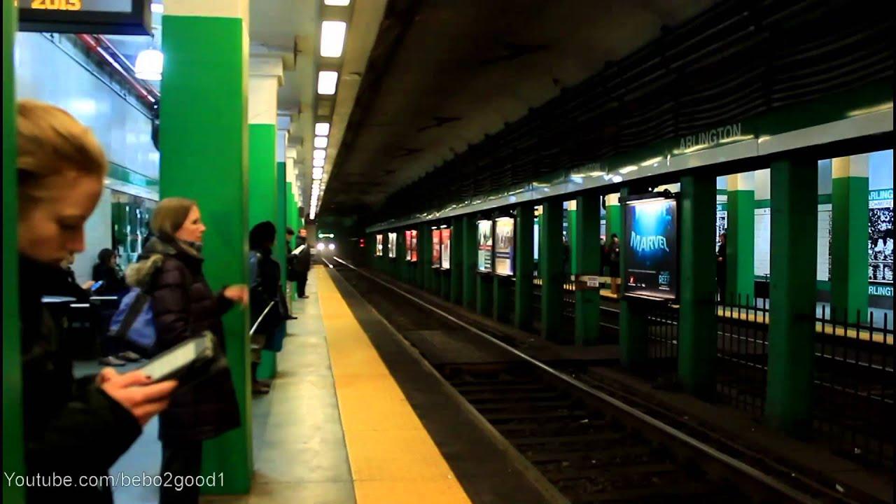 Line Green D Train Mbta