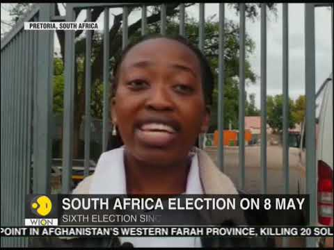 South Africa election on 8 May; Unemployment, corruption main issues