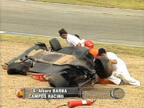 Alvaro Barba 2005 Spanish F3 Championship at Jerez Race2