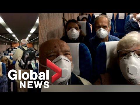 Coronavirus Outbreak: U.S. Couple Films Moments After Disembarking Diamond Princess Cruise