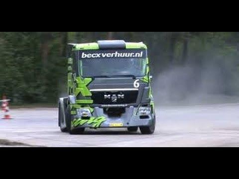 ▶ Becx TDS Racing  Semi Truck Drift Gymkhana