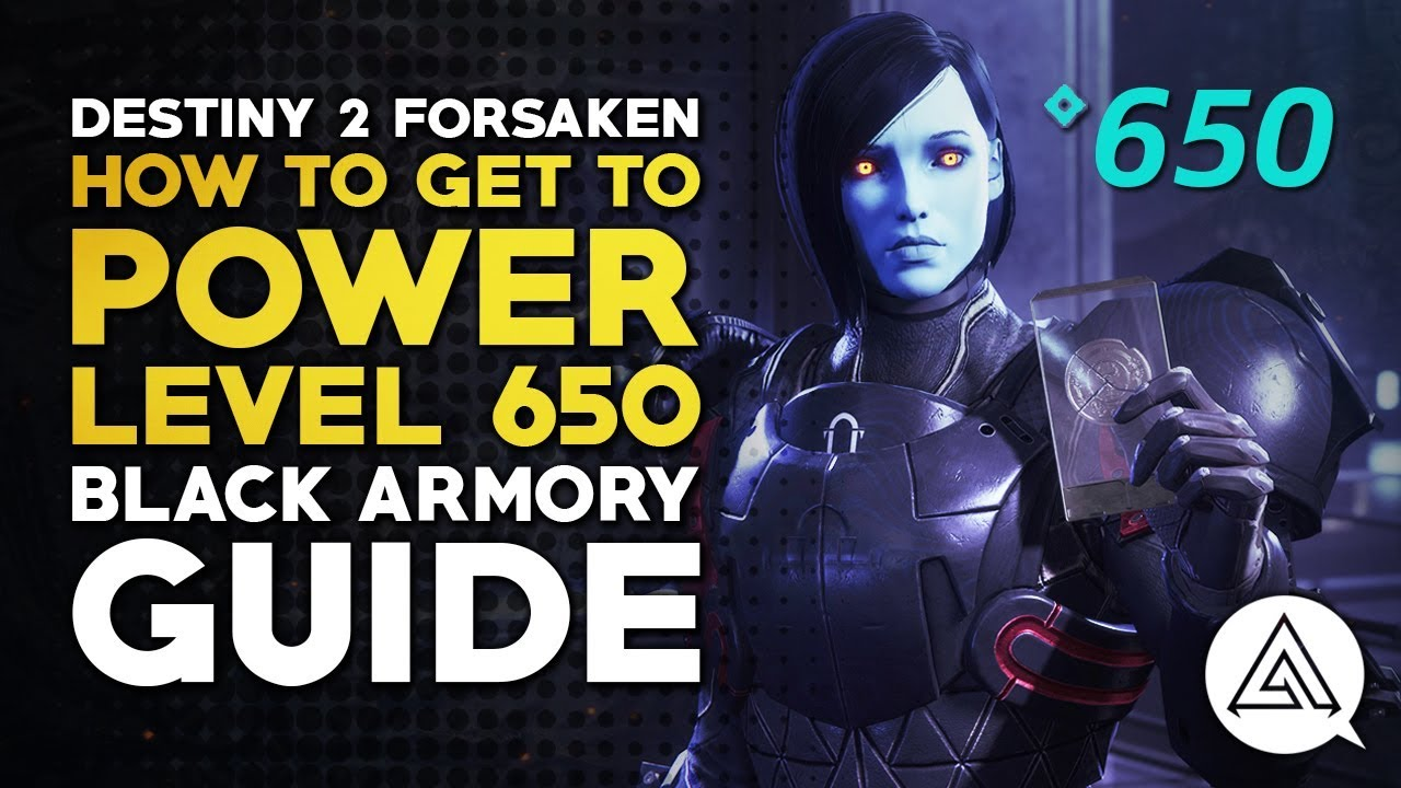 Destiny 2: Black Armory - how to raise your Power Level to 650 - VG247