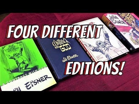 Four Different Editions of A Contract with God, by Will Eisner: Comparison and Analysis