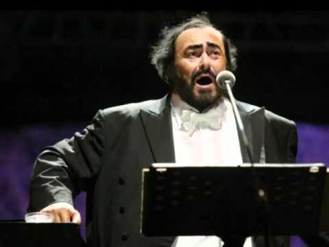 Luciano Pavarotti La Donna e Mobile from Rigoletto  Verdi  duet with Solomon Chong