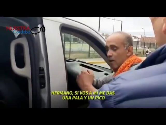 Amenaza al gobernador Juan Schiaretti