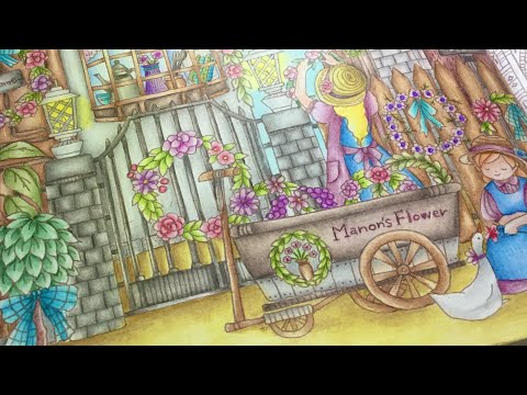 ROMANTIC COUNTRY by Eriy - the second tale - FC polychromos - part 2