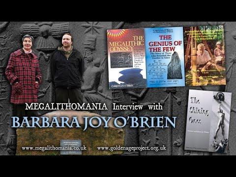 Barbara Joy O'Brien - Megalithomania Interview - Co-Author of 'The Shining Ones'