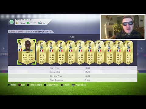 FIFA 18 - TOTGS MARKET CRASH!! (ps I'm Drunk) - Daily FUT Vlog 047