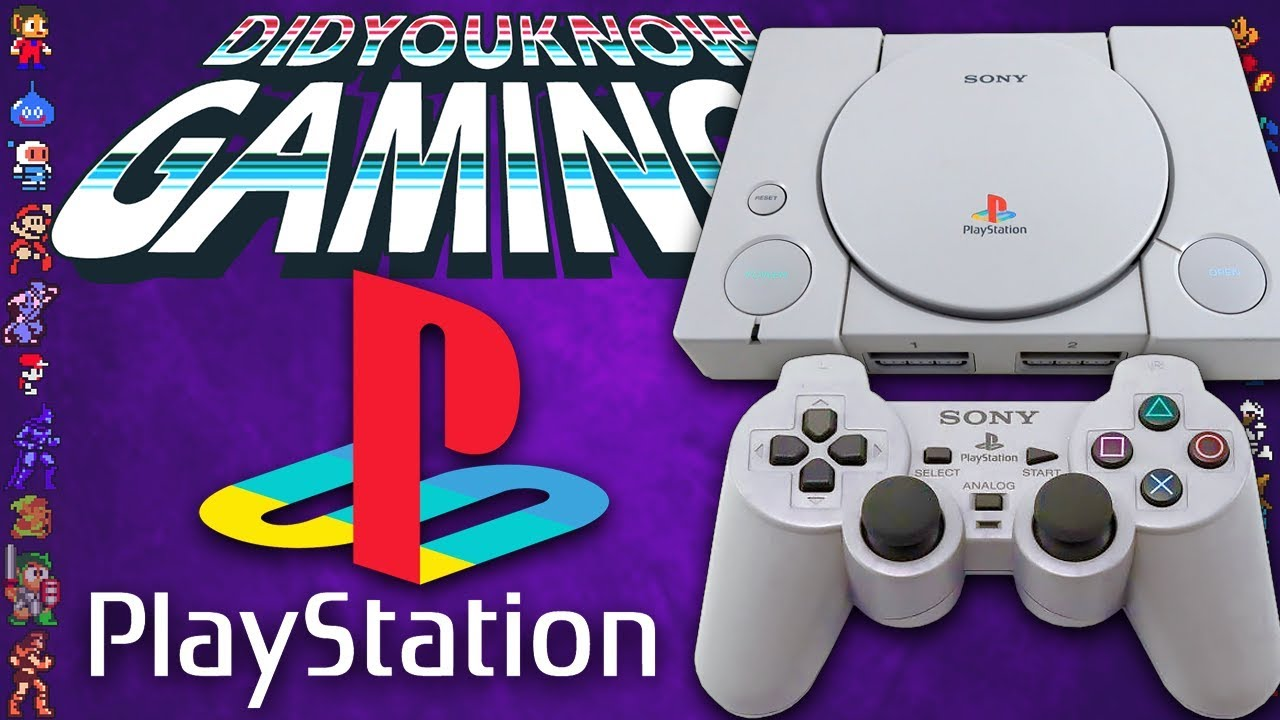 PlayStation 1 (PS1) - Did You Know Gaming? Feat. Furst