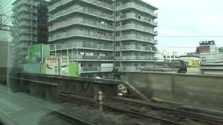 近鉄22600系 モ22658 名阪特急大阪難波⇒近鉄名古屋間の車窓