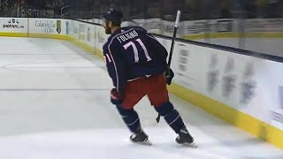 Foligno restores two goal lead for Columbus