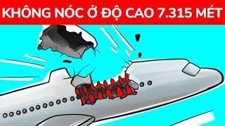 Một chiếc máy bay bị bung nóc ở độ cao 7.315 mét nhưng đã hạ cánh an toàn