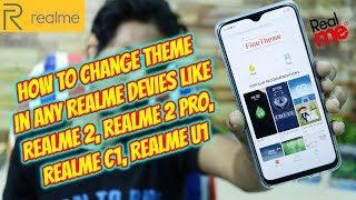 Download How To Install Theme Manager Realme C1 Realme 2 Realme 2