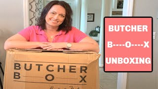 $260 BUTCHER BOX UNBOXING | MEAT FOR DAYS | LIVING IN THE MOM LANE