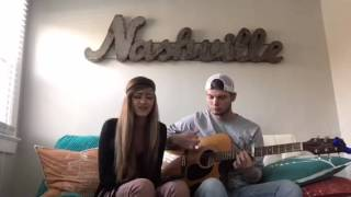 Whiskey On My Breath - Love and Theft (Acoustic cover - Kenzi Lewis & Aaron Givan)