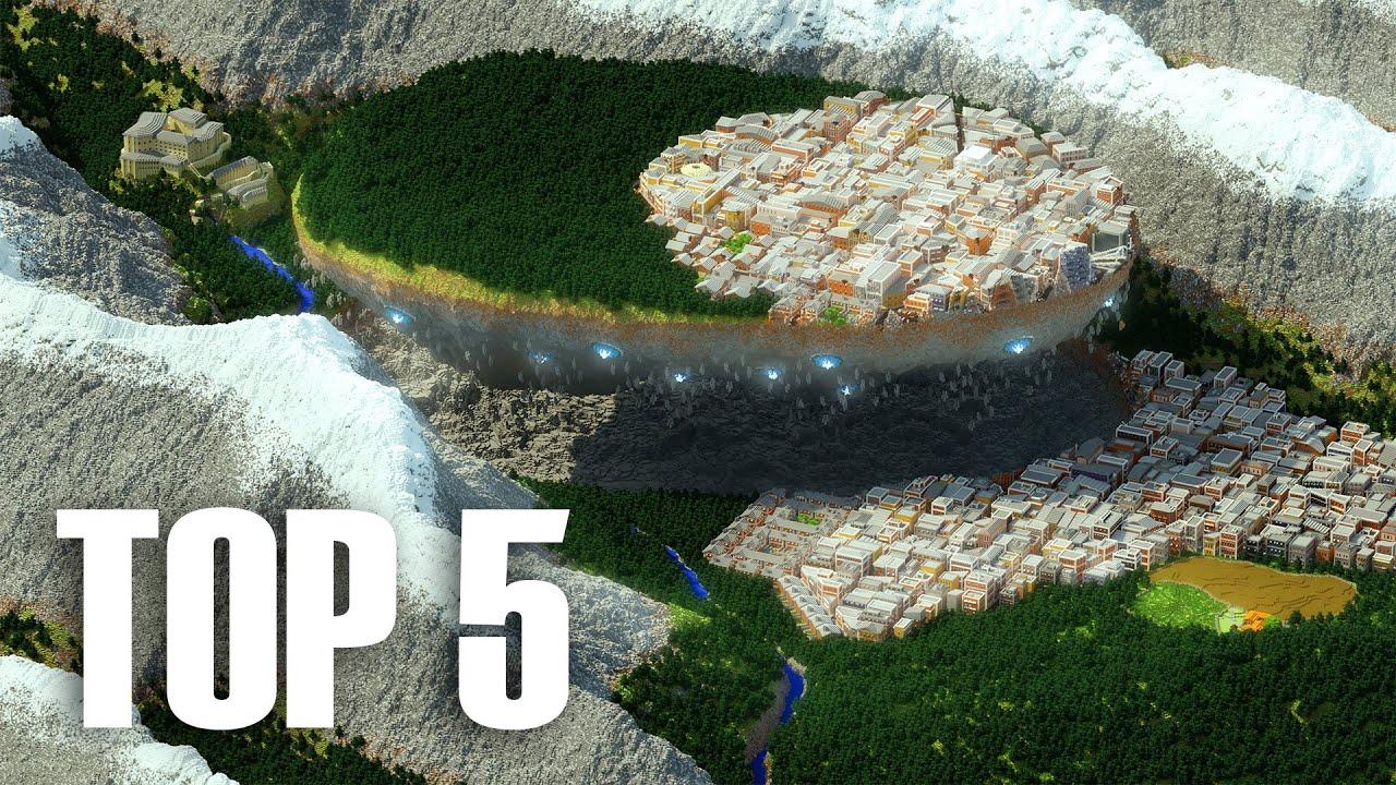 Download My Top 5 BIGGEST Builds In Minecraft