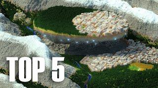 My Top 5 BIGGEST Builds In Minecraft