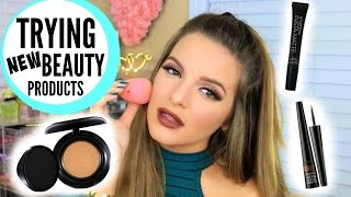 trying new makeup products hits misses   casey holmes